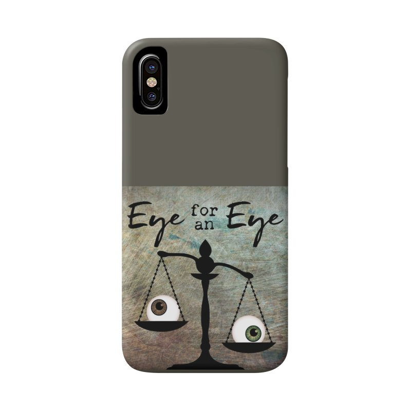 Eye for an Eye Scale Accessories Phone Case by Eye for an Eye Merch Shop