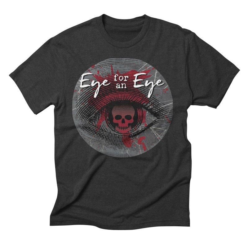 Eye Blood Shot Men's Triblend T-Shirt by Eye for an Eye Merch Shop
