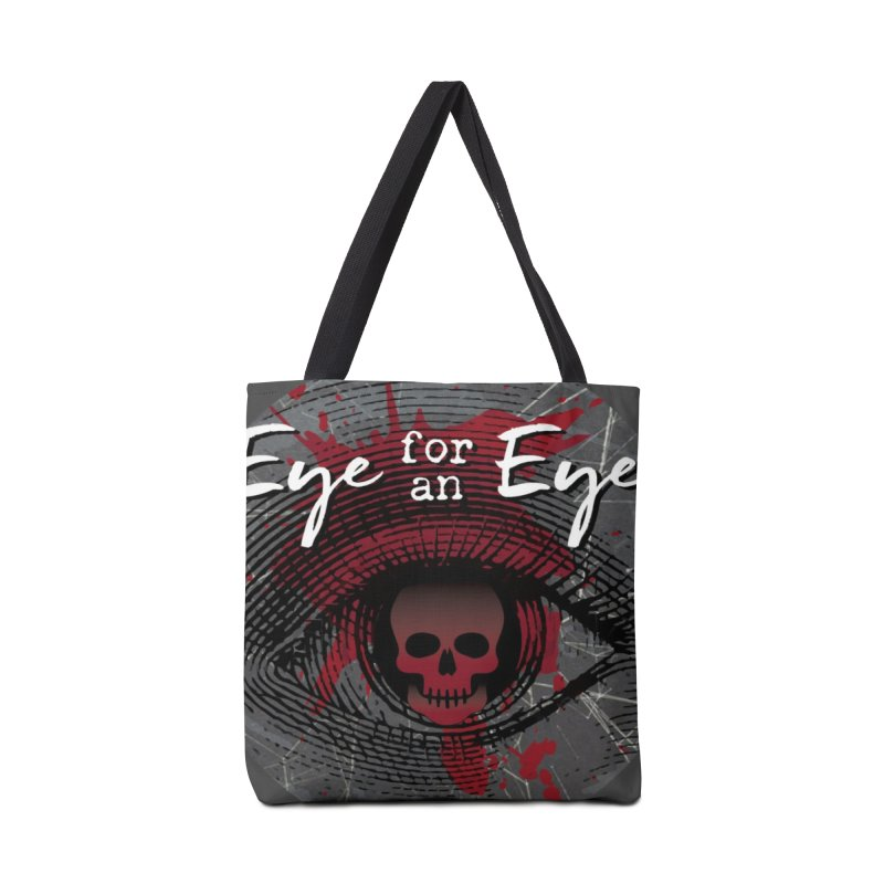 Eye Blood Shot Accessories Bag by Eye for an Eye Merch Shop