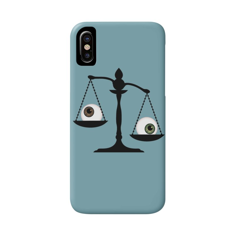 Isolated Eye for an Eye Scale Accessories Phone Case by Eye for an Eye Merch Shop