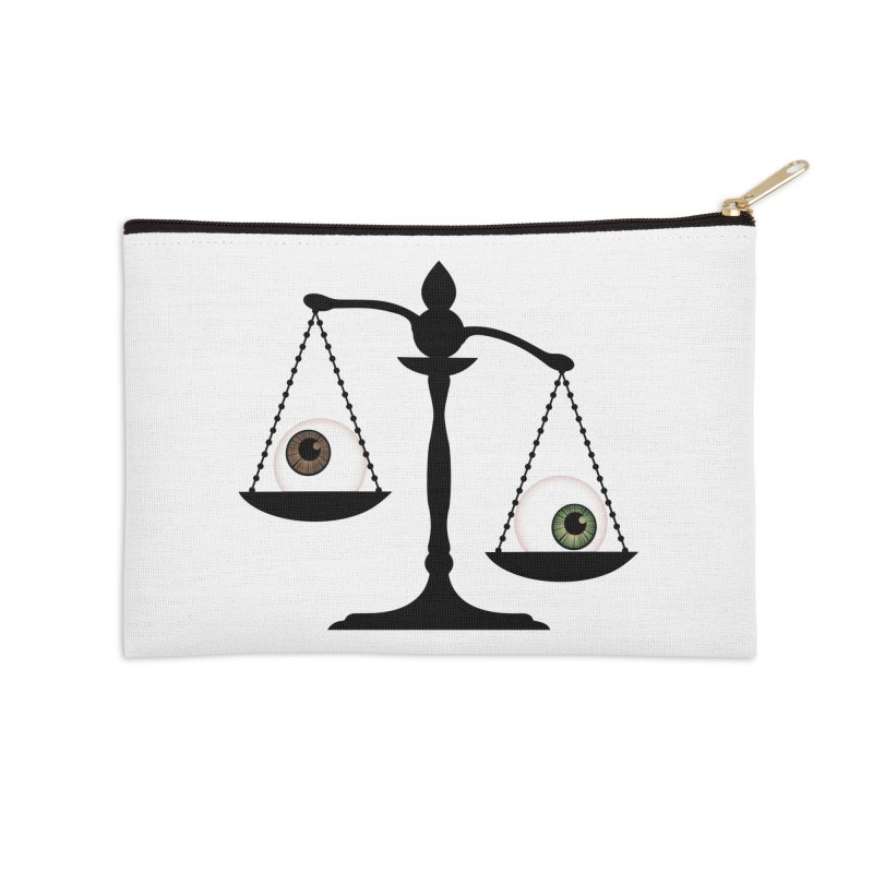 Isolated Eye for an Eye Scale Accessories Zip Pouch by Eye for an Eye Merch Shop
