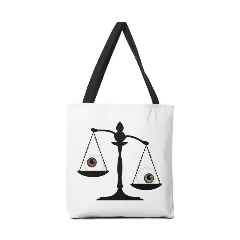 Isolated Eye for an Eye Scale Accessories Tote Bag Bag by Eye for an Eye Merch Shop