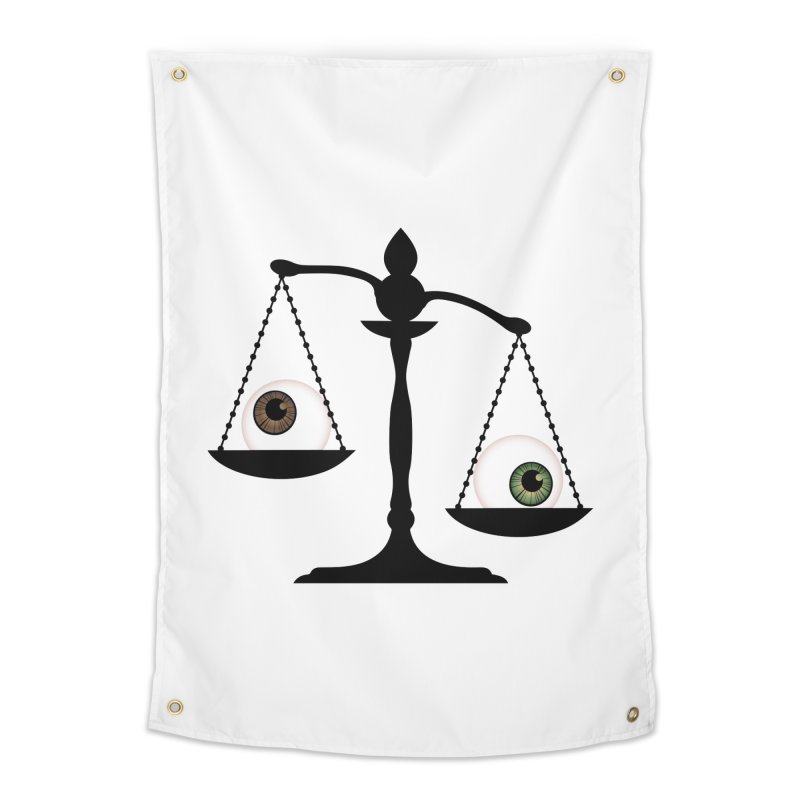 Isolated Eye for an Eye Scale Home Tapestry by Eye for an Eye Merch Shop