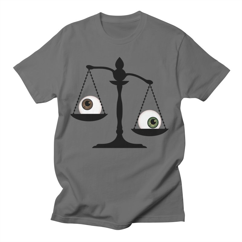 Isolated Eye for an Eye Scale Men's T-Shirt by Eye for an Eye Merch Shop