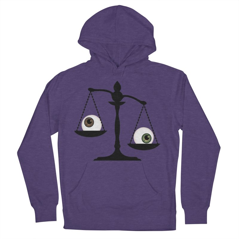 Isolated Eye for an Eye Scale Men's French Terry Pullover Hoody by Eye for an Eye Merch Shop