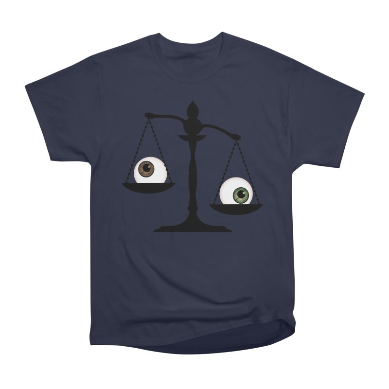 Isolated Eye for an Eye Scale Men's Heavyweight T-Shirt by Eye for an Eye Merch Shop