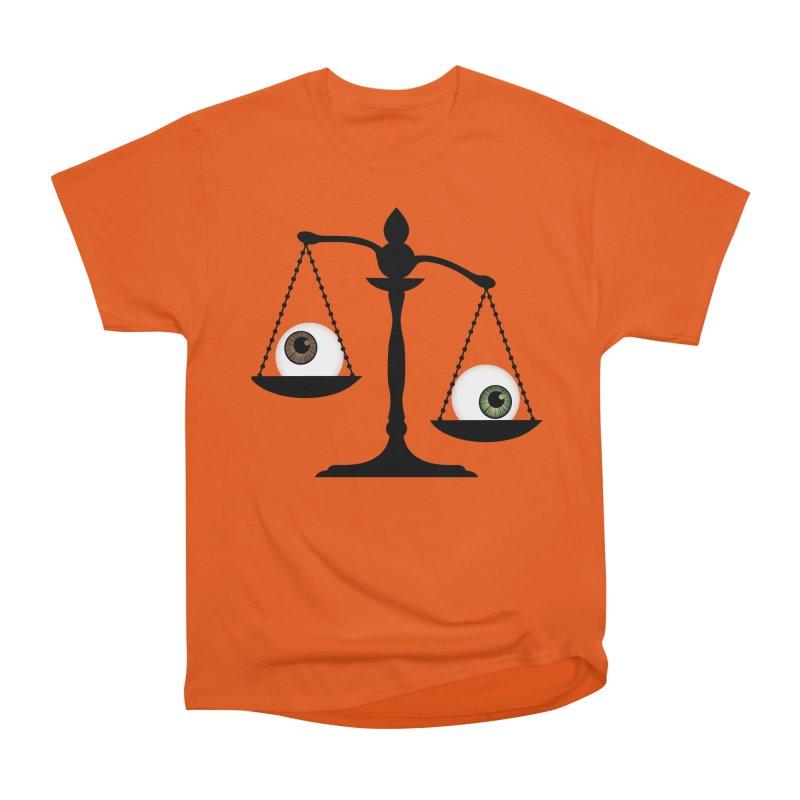 Isolated Eye for an Eye Scale Women's Heavyweight Unisex T-Shirt by Eye for an Eye Merch Shop