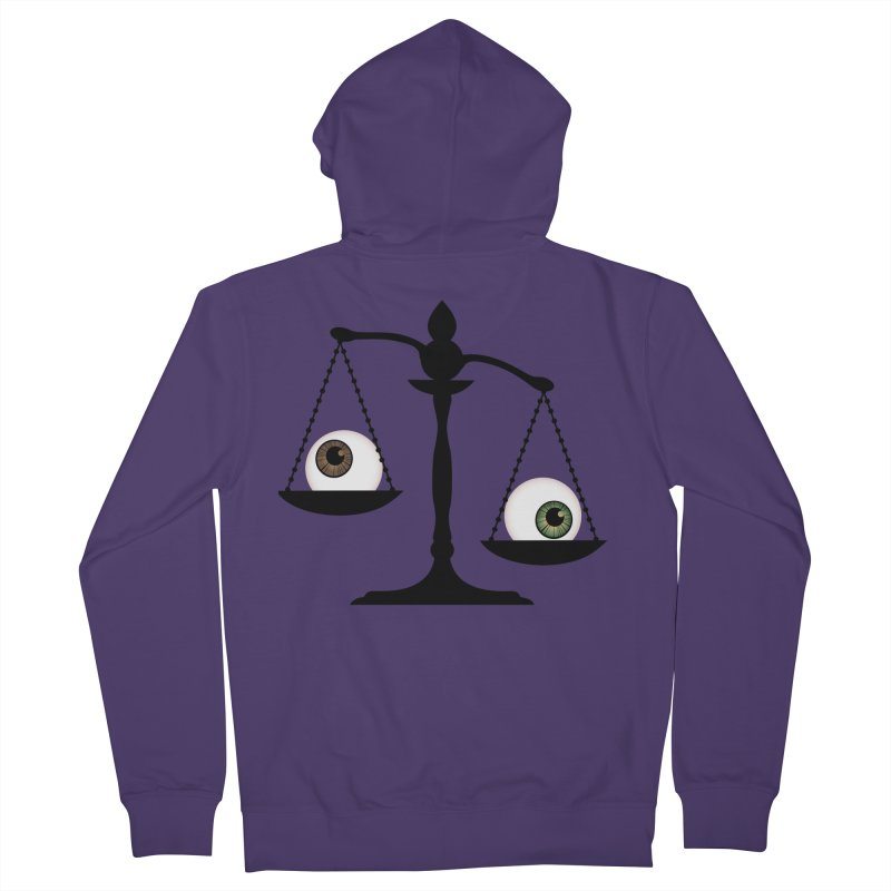 Isolated Eye for an Eye Scale Women's French Terry Zip-Up Hoody by Eye for an Eye Merch Shop