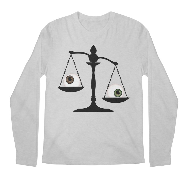 Isolated Eye for an Eye Scale Men's Regular Longsleeve T-Shirt by Eye for an Eye Merch Shop
