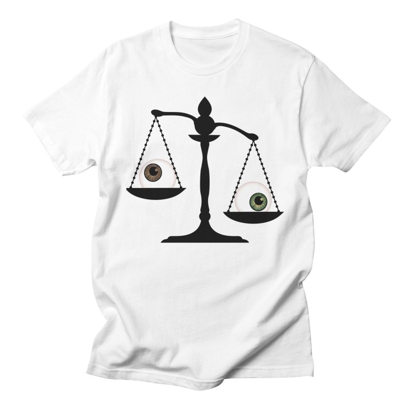Isolated Eye for an Eye Scale Men's Regular T-Shirt by Eye for an Eye Merch Shop