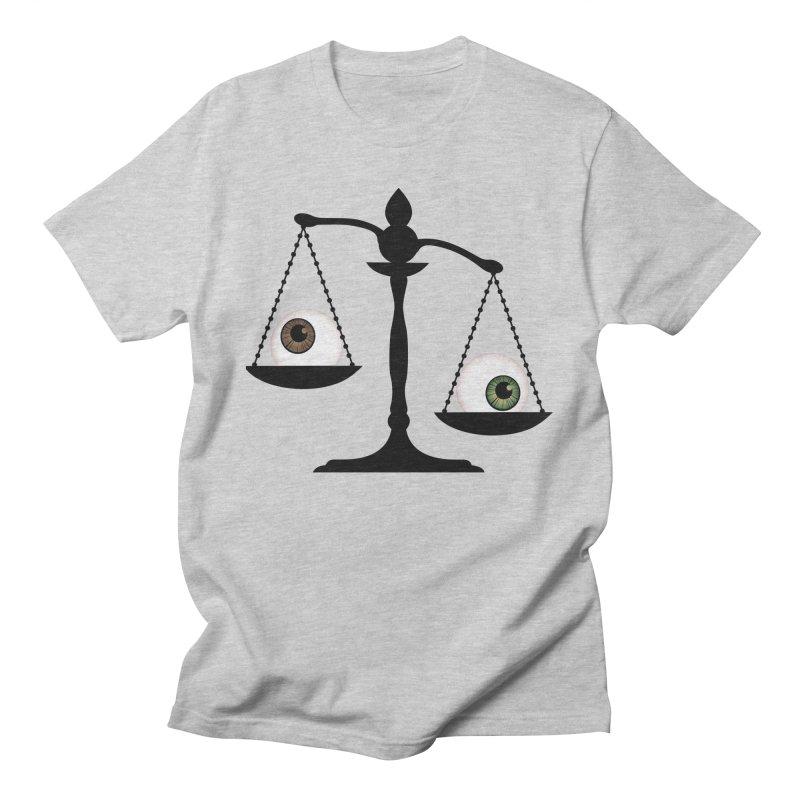 Isolated Eye for an Eye Scale Men's Regular T-Shirt by Eye for an Eye Merch Shop