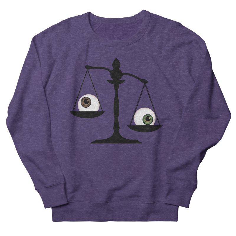 Isolated Eye for an Eye Scale Women's French Terry Sweatshirt by Eye for an Eye Merch Shop