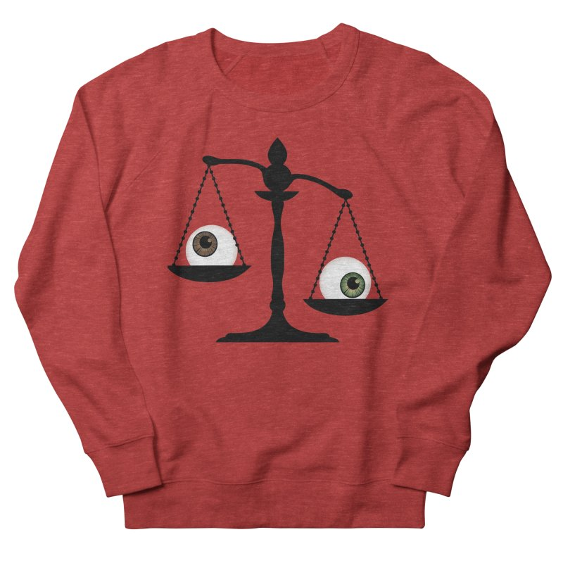 Isolated Eye for an Eye Scale Men's French Terry Sweatshirt by Eye for an Eye Merch Shop