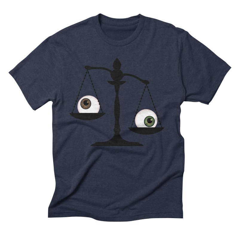 Isolated Eye for an Eye Scale Men's Triblend T-Shirt by Eye for an Eye Merch Shop