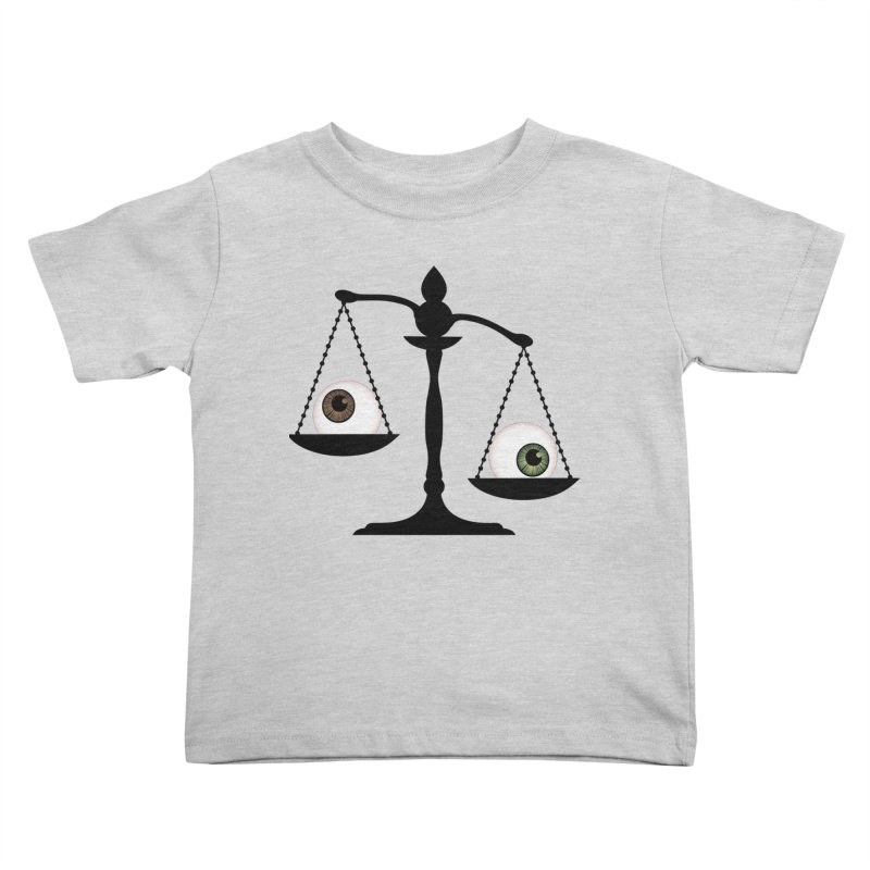 Isolated Eye for an Eye Scale Kids Toddler T-Shirt by Eye for an Eye Merch Shop
