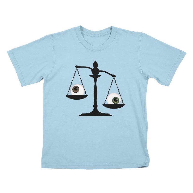 Isolated Eye for an Eye Scale Kids T-Shirt by Eye for an Eye Merch Shop