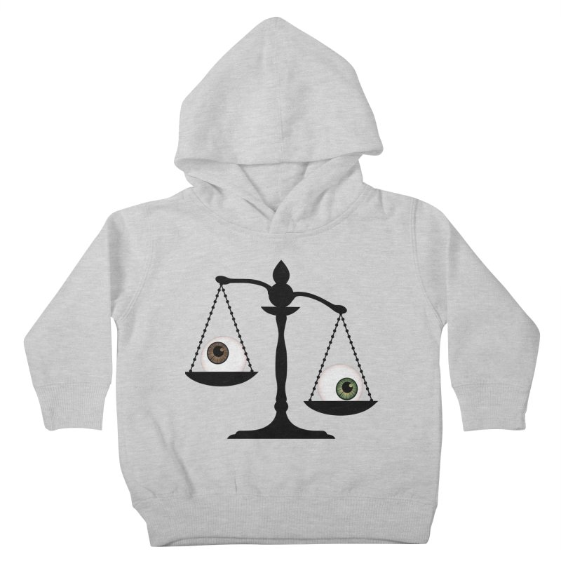 Isolated Eye for an Eye Scale Kids Toddler Pullover Hoody by Eye for an Eye Merch Shop