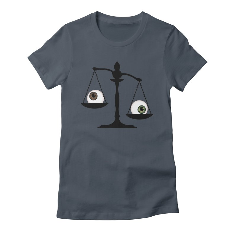 Isolated Eye for an Eye Scale Women's Fitted T-Shirt by Eye for an Eye Merch Shop