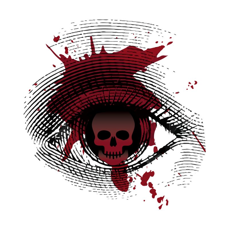 Isolated Blood Shot Eye for an Eye Logo by Eye for an Eye Merch Shop