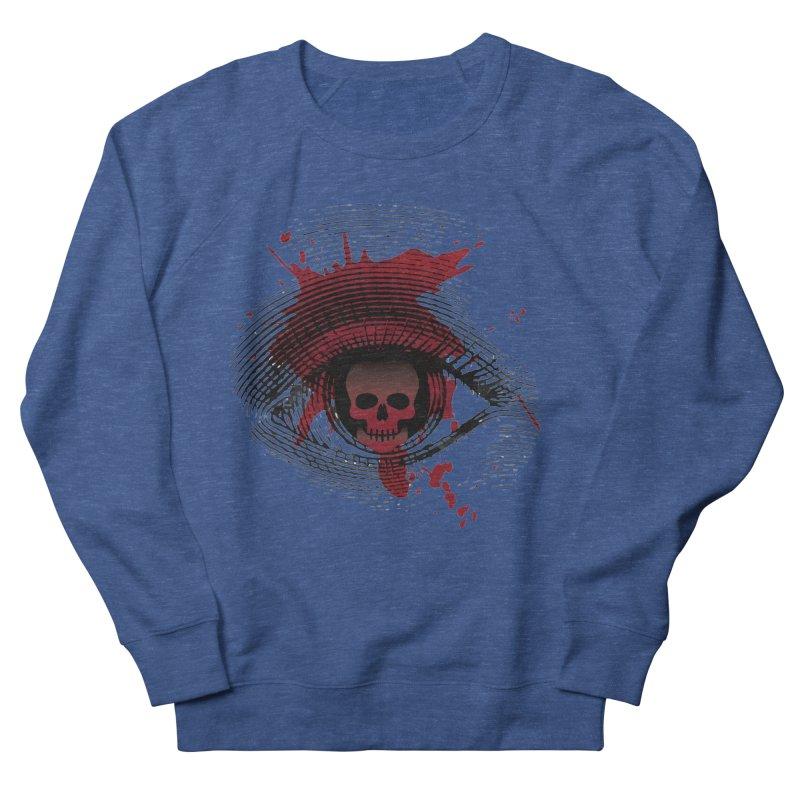 Isolated Blood Shot Eye for an Eye Logo Men's Sweatshirt by Eye for an Eye Merch Shop