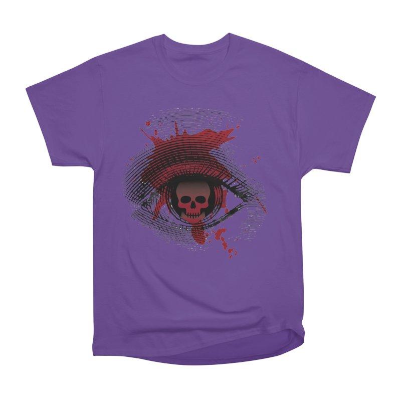 Isolated Blood Shot Eye for an Eye Logo Women's Heavyweight Unisex T-Shirt by Eye for an Eye Merch Shop