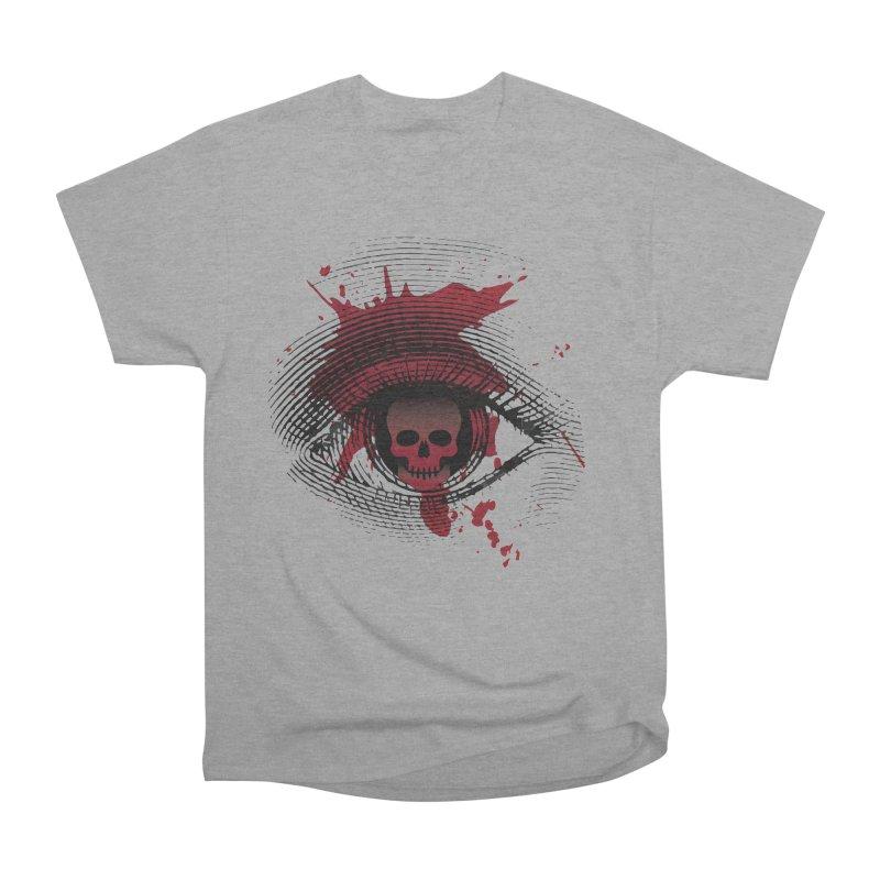 Isolated Blood Shot Eye for an Eye Logo Men's Heavyweight T-Shirt by Eye for an Eye Merch Shop