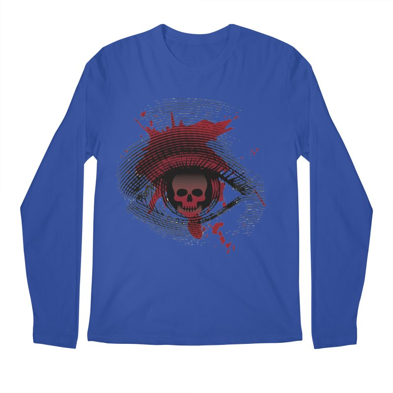 Isolated Blood Shot Eye for an Eye Logo Men's Regular Longsleeve T-Shirt by Eye for an Eye Merch Shop