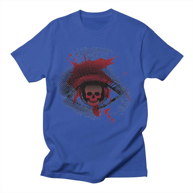Isolated Blood Shot Eye for an Eye Logo Men's Regular T-Shirt by Eye for an Eye Merch Shop