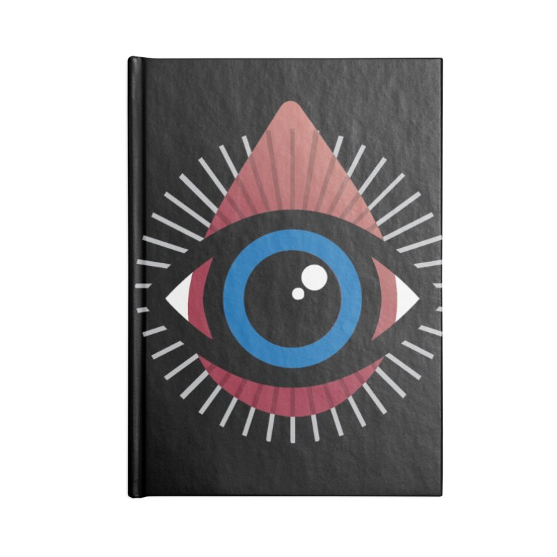 Isolated Tribal Eye for an Eye Accessories Lined Journal Notebook by Eye for an Eye Merch Shop