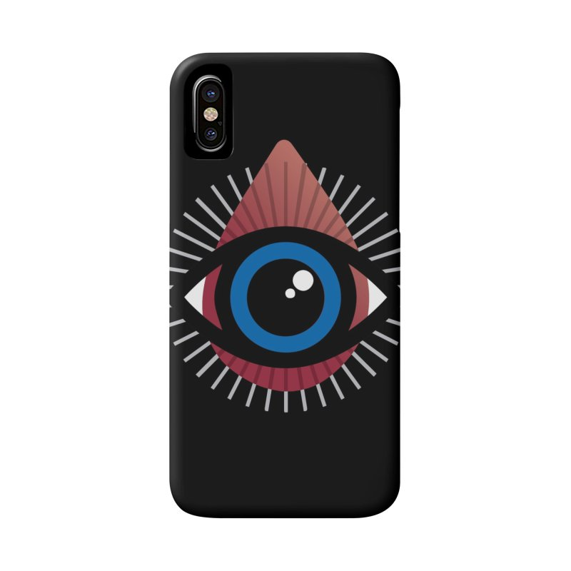 Isolated Tribal Eye for an Eye Accessories Phone Case by Eye for an Eye Merch Shop