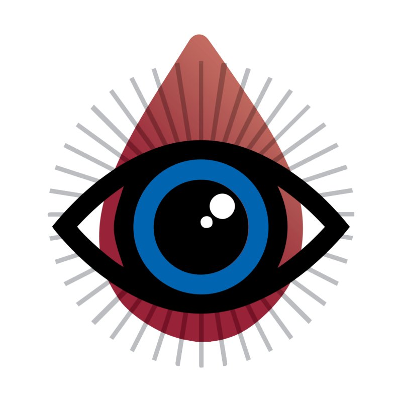 Isolated Tribal Eye for an Eye   by Eye for an Eye Merch Shop