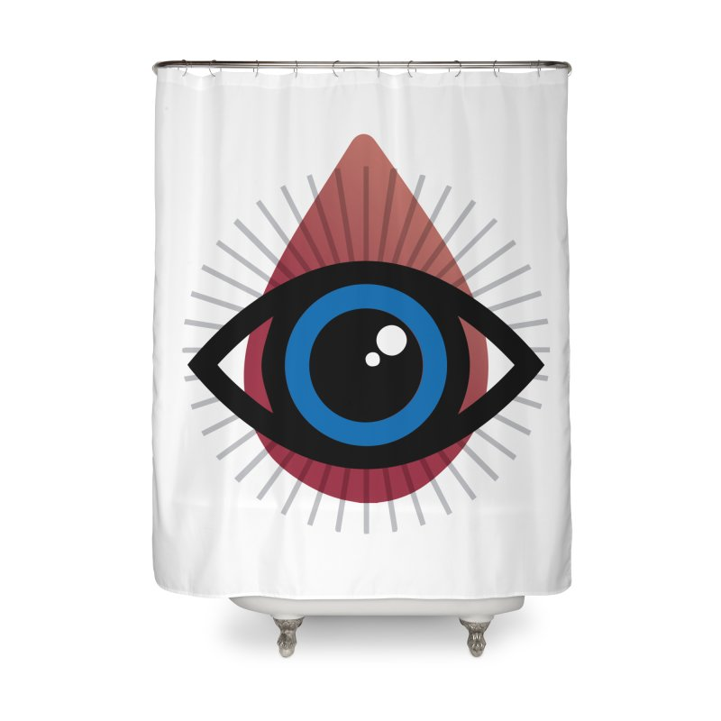 Isolated Tribal Eye for an Eye Home Shower Curtain by Eye for an Eye Merch Shop