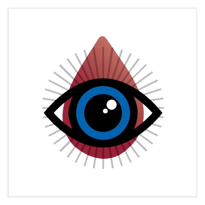 Isolated Tribal Eye for an Eye Home Fine Art Print by Eye for an Eye Merch Shop