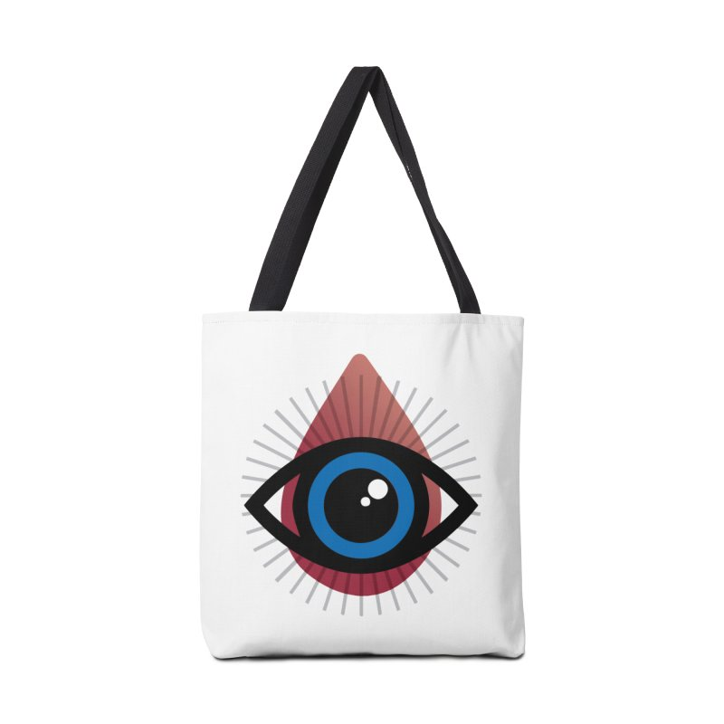 Isolated Tribal Eye for an Eye Accessories Tote Bag Bag by Eye for an Eye Merch Shop