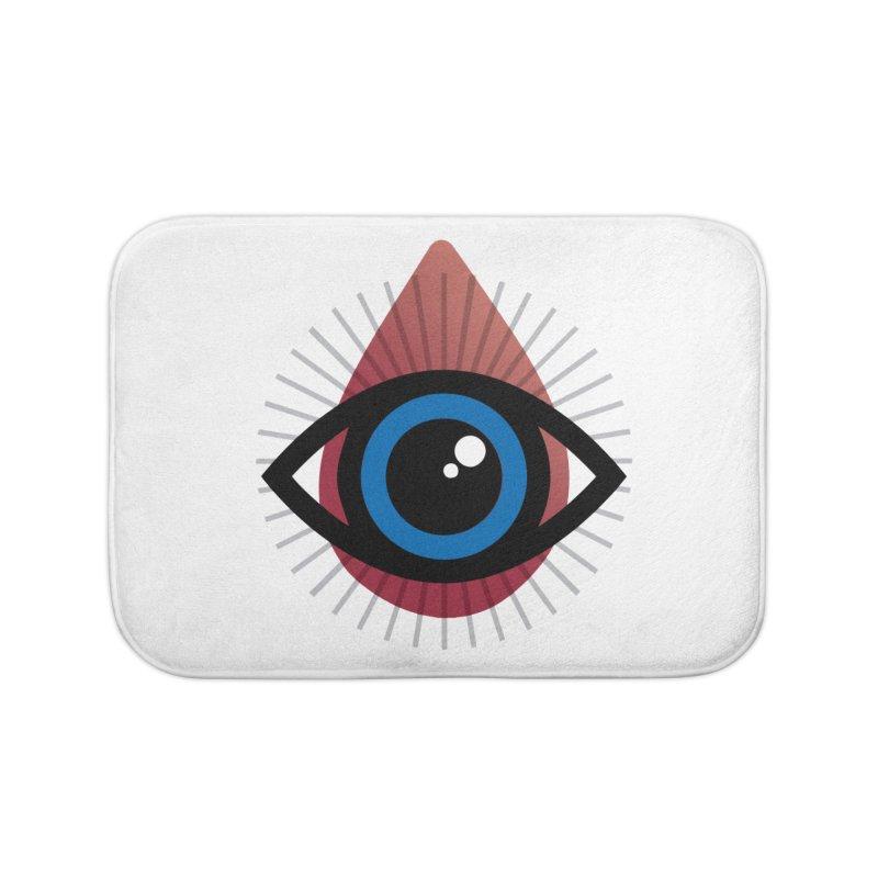 Isolated Tribal Eye for an Eye Home Bath Mat by Eye for an Eye Merch Shop