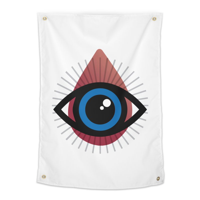 Isolated Tribal Eye for an Eye Home Tapestry by Eye for an Eye Merch Shop