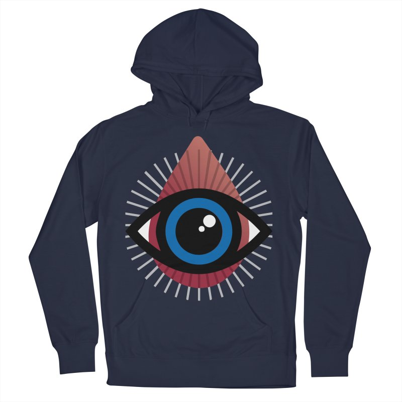 Isolated Tribal Eye for an Eye Women's French Terry Pullover Hoody by Eye for an Eye Merch Shop
