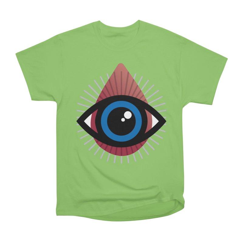 Isolated Tribal Eye for an Eye Women's Heavyweight Unisex T-Shirt by Eye for an Eye Merch Shop