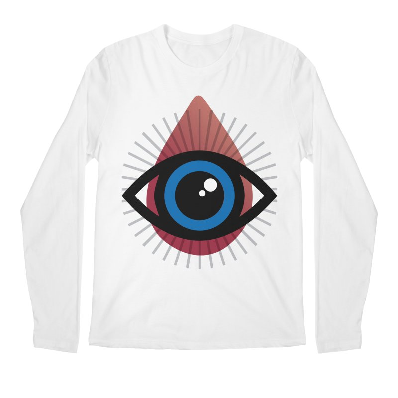 Isolated Tribal Eye for an Eye Men's Regular Longsleeve T-Shirt by Eye for an Eye Merch Shop