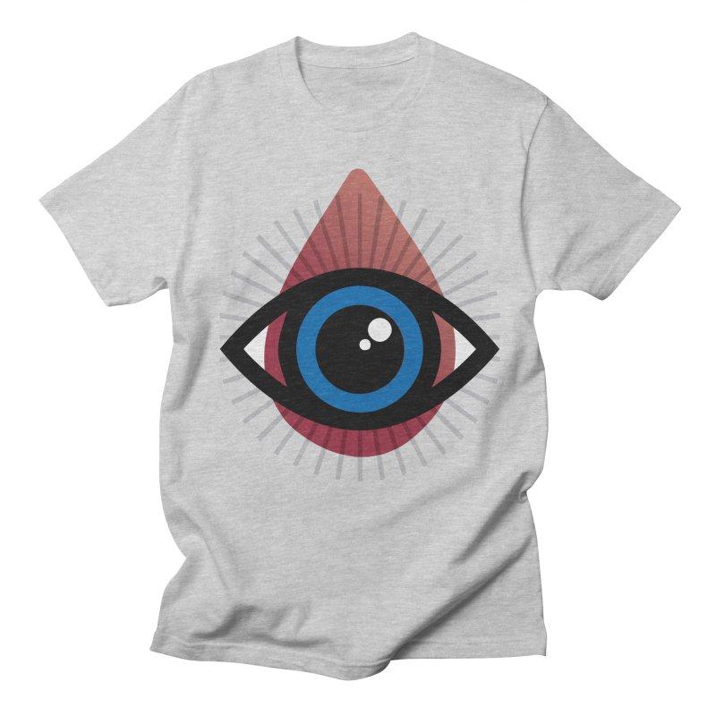 Isolated Tribal Eye for an Eye Men's Regular T-Shirt by Eye for an Eye Merch Shop