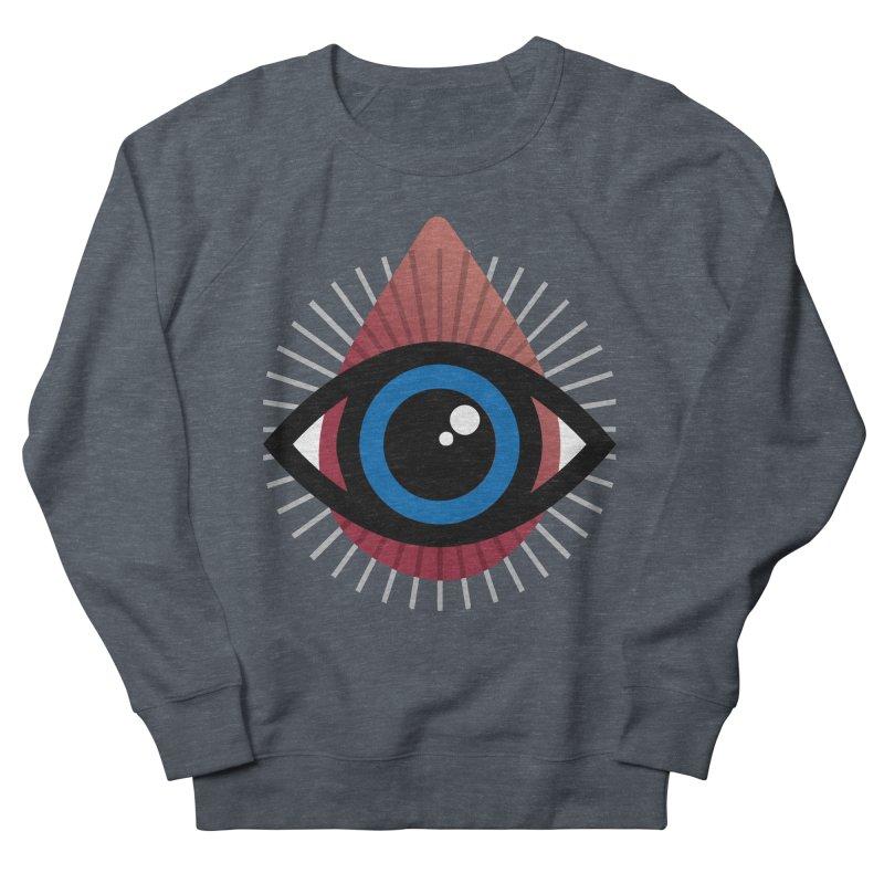 Isolated Tribal Eye for an Eye Men's French Terry Sweatshirt by Eye for an Eye Merch Shop