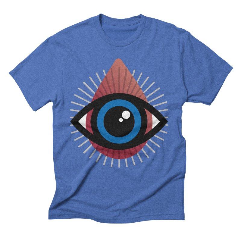 Isolated Tribal Eye for an Eye Men's Triblend T-Shirt by Eye for an Eye Merch Shop