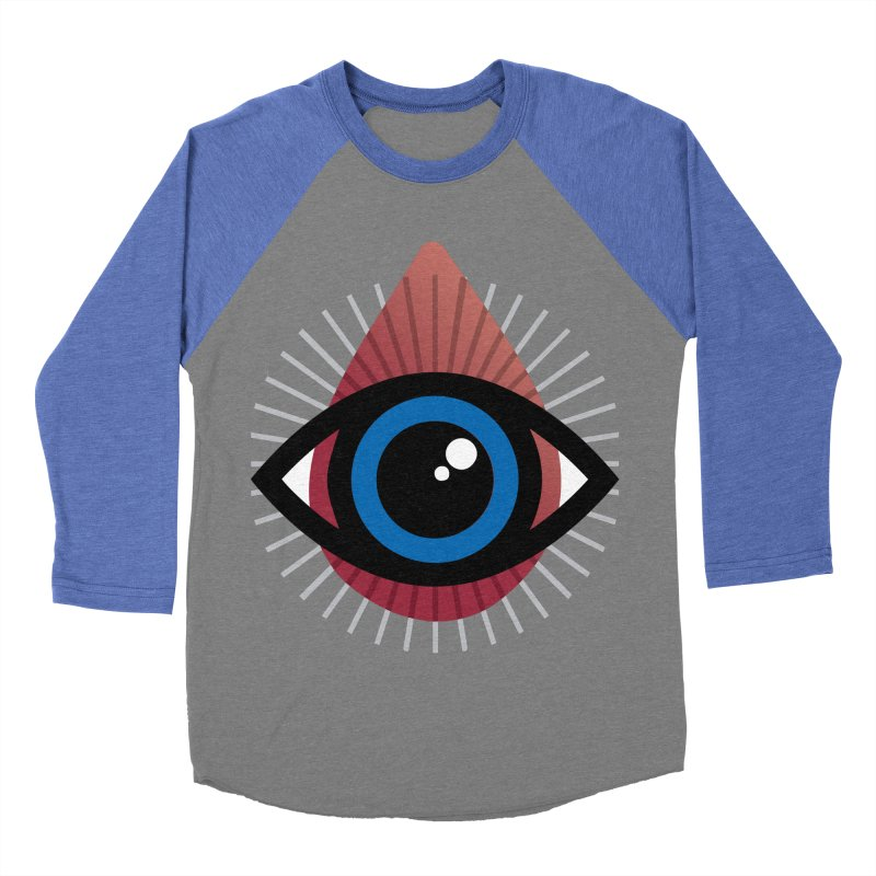 Isolated Tribal Eye for an Eye Women's Baseball Triblend Longsleeve T-Shirt by Eye for an Eye Merch Shop