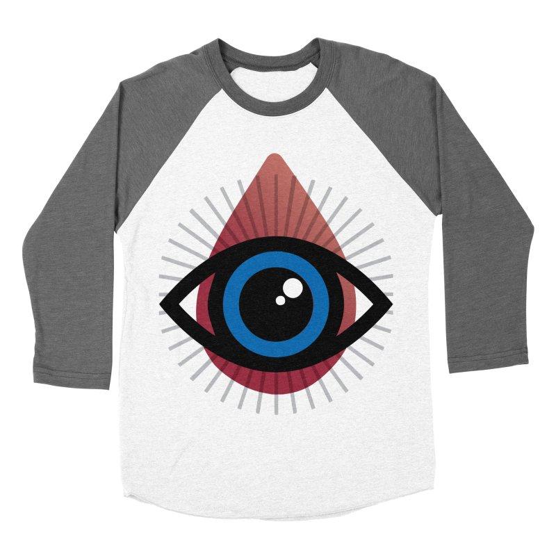 Isolated Tribal Eye for an Eye Men's Baseball Triblend Longsleeve T-Shirt by Eye for an Eye Merch Shop