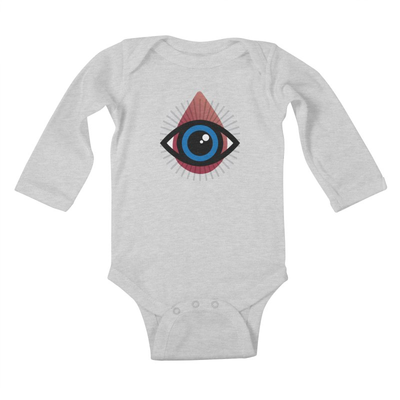 Isolated Tribal Eye for an Eye Kids Baby Longsleeve Bodysuit by Eye for an Eye Merch Shop