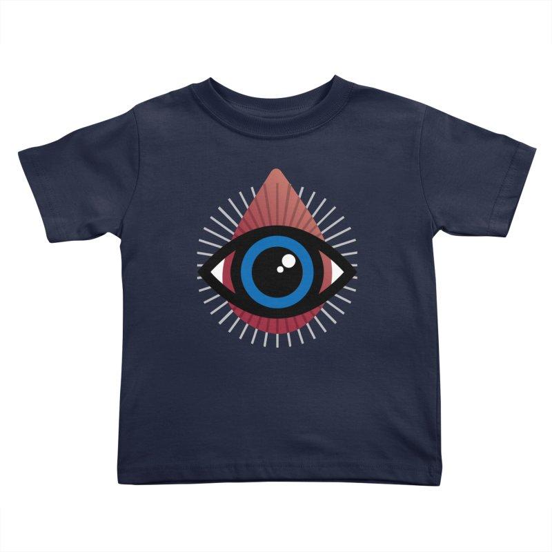 Isolated Tribal Eye for an Eye Kids Toddler T-Shirt by Eye for an Eye Merch Shop