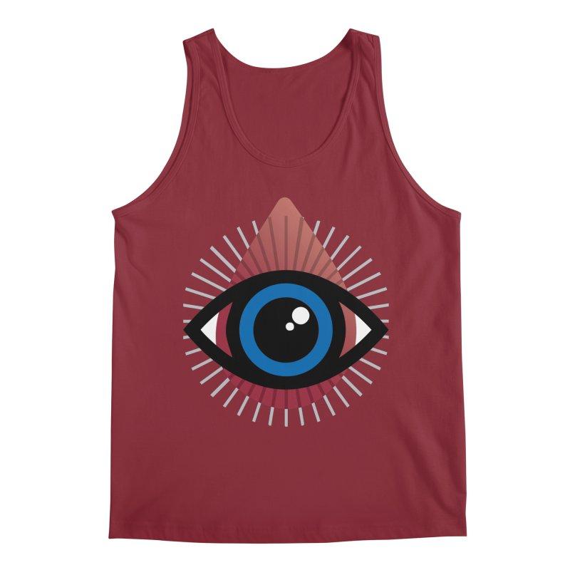Isolated Tribal Eye for an Eye Men's Regular Tank by Eye for an Eye Merch Shop