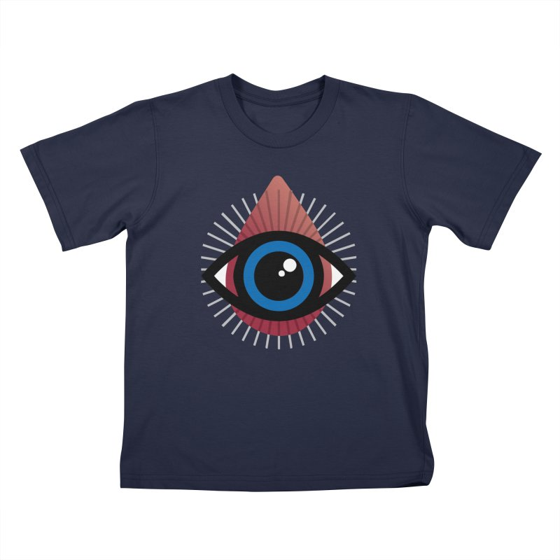 Isolated Tribal Eye for an Eye Kids T-Shirt by Eye for an Eye Merch Shop