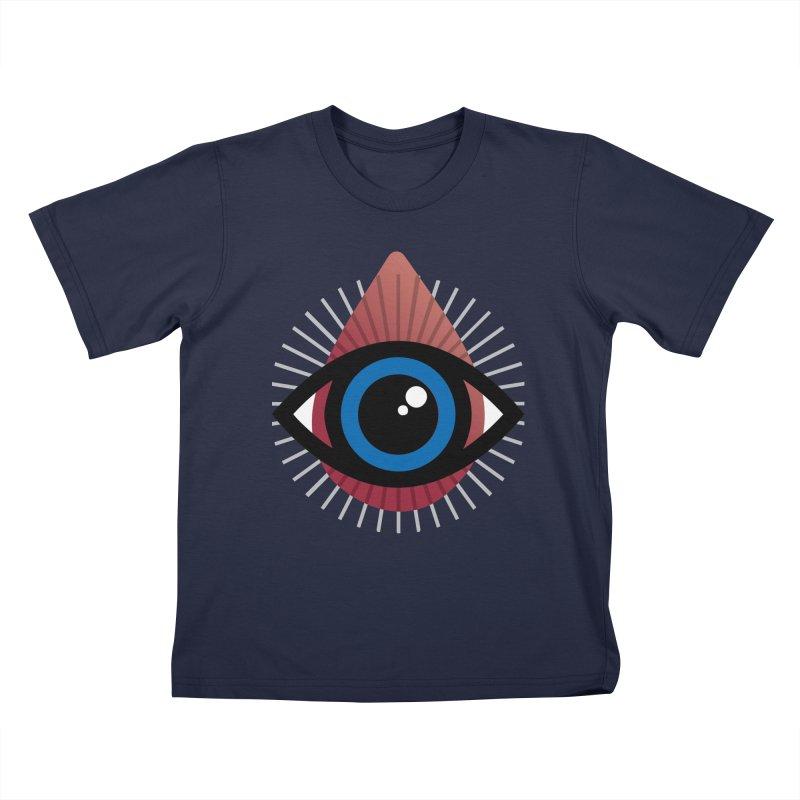 Isolated Tribal Eye for an Eye Kids T-Shirt by Eye for an Eye Merch Shop