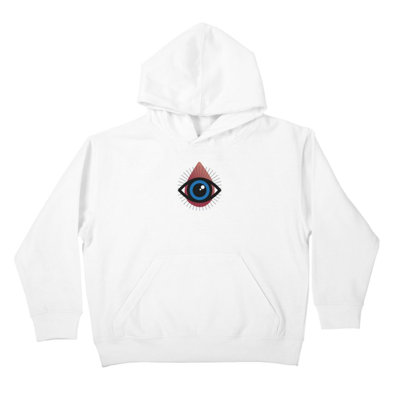 Isolated Tribal Eye for an Eye Kids Pullover Hoody by Eye for an Eye Merch Shop